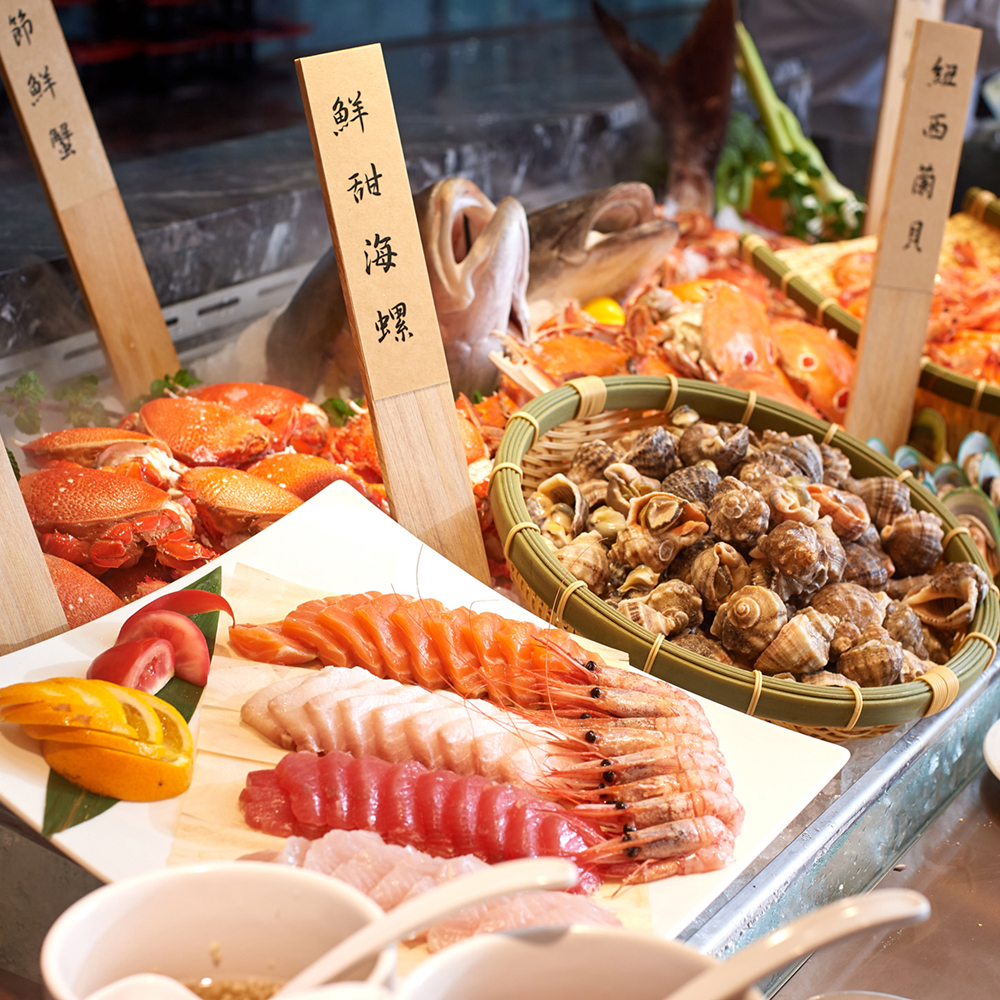 台北王朝大酒店 自助吃到飽午晚餐券
