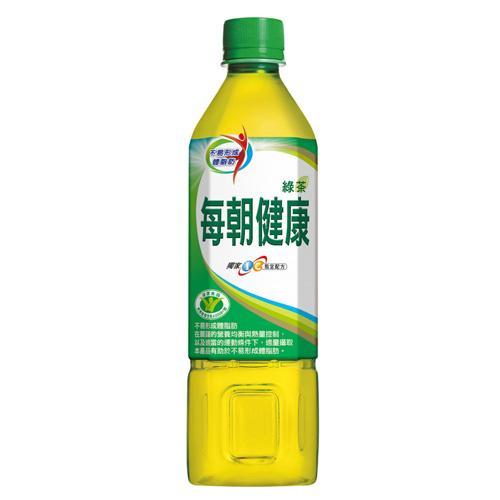 每朝健康綠茶 650mlx24