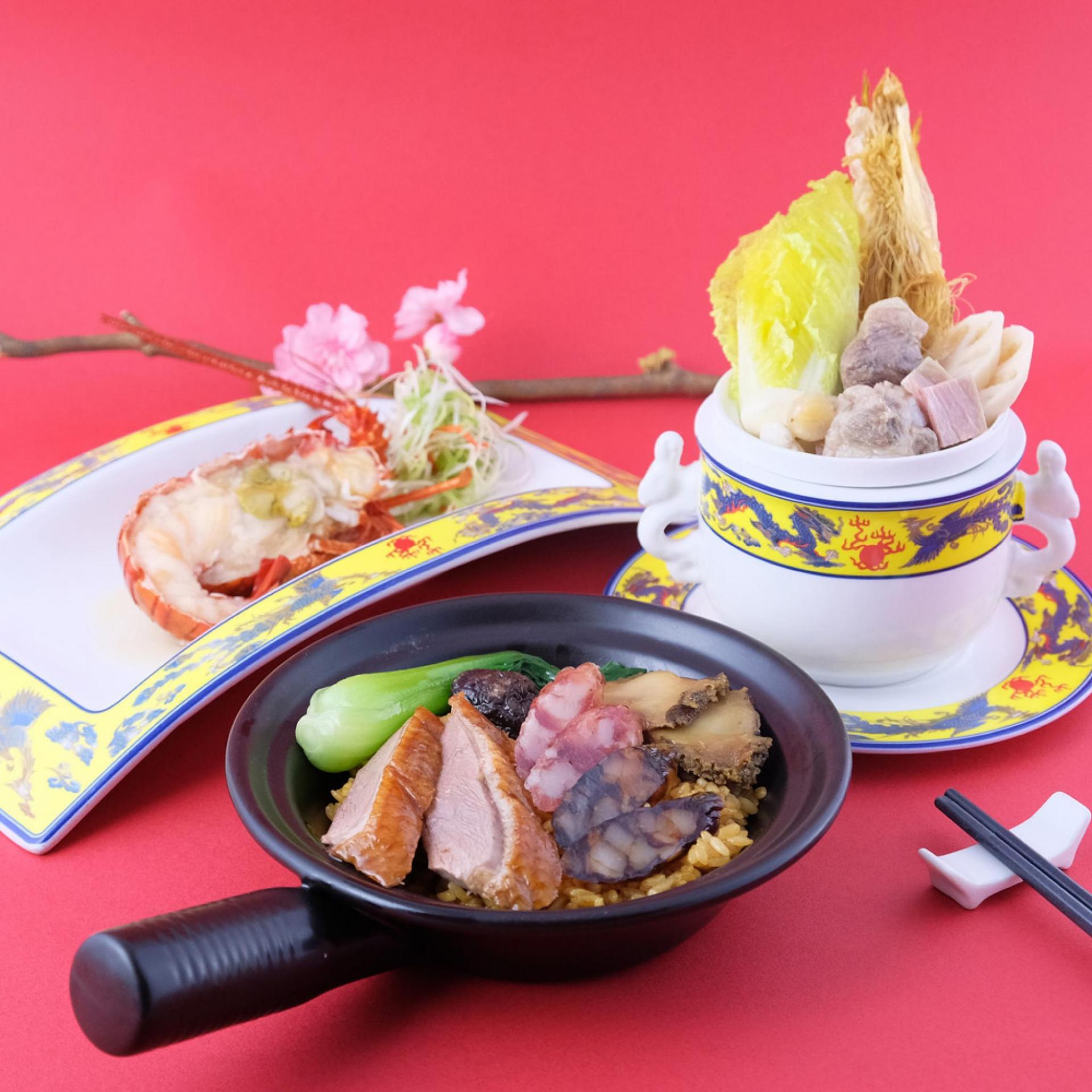 六福客棧 龍鮑煲仔飯午/晚餐